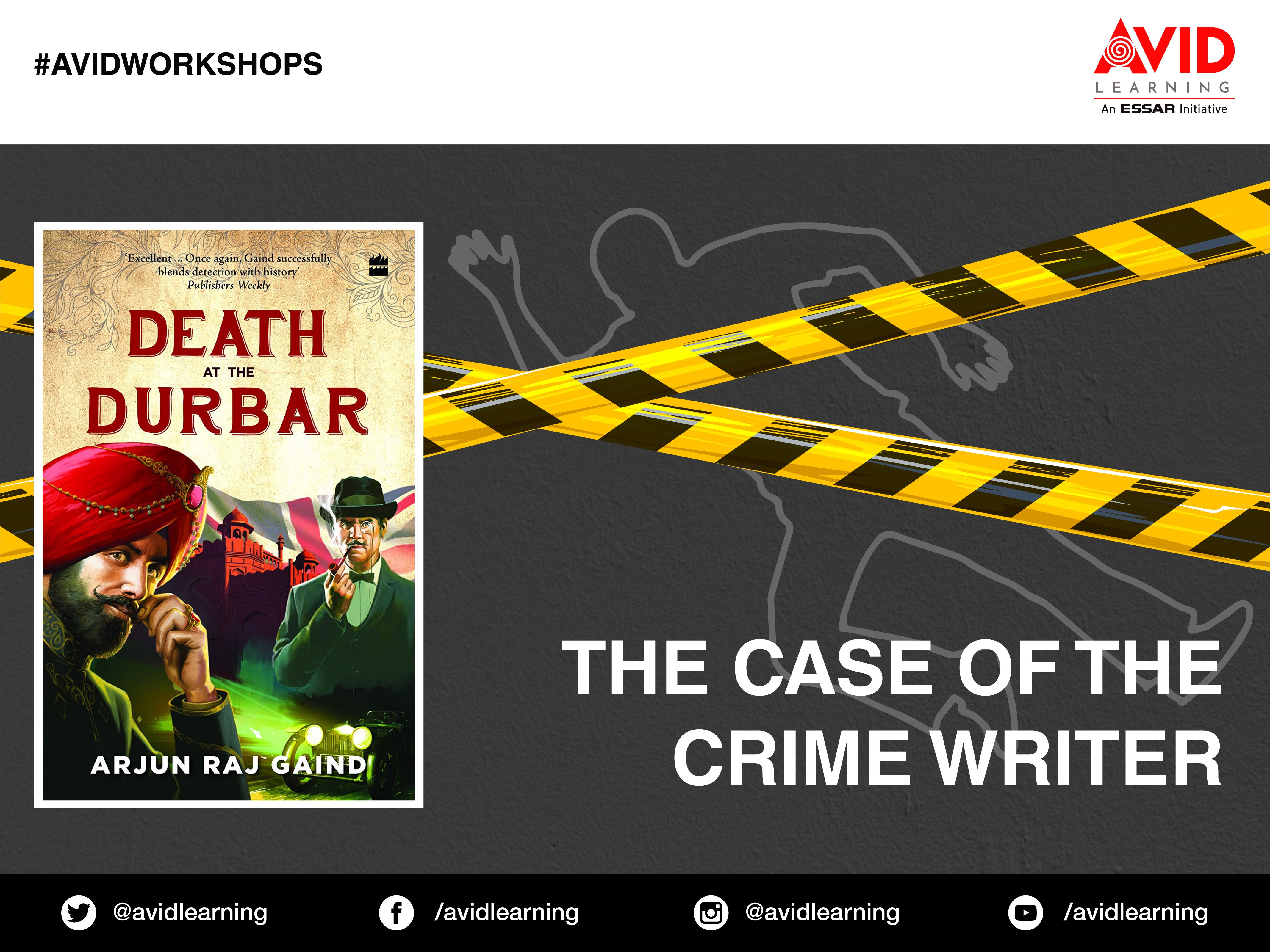 A138 - The Case of the Crime Writer: A Workshop