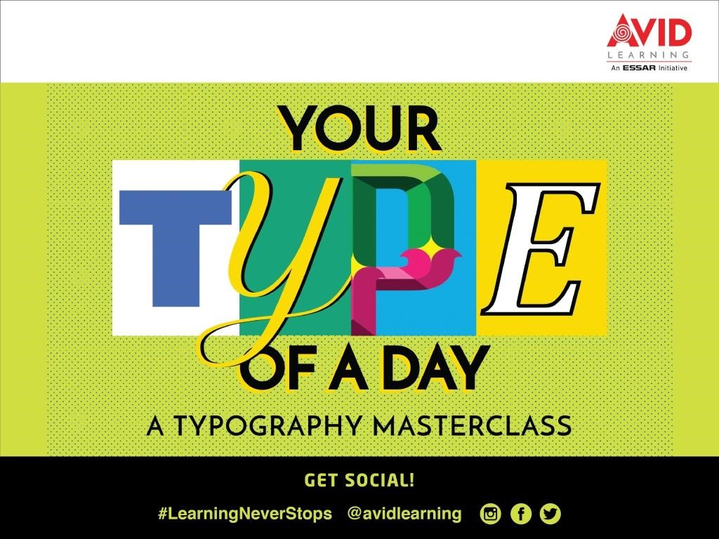 A139 - Your Type of a Day: A Typography Masterclass